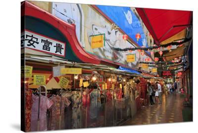 Chinatown, Yokohama, Honshu Island, Japan, Asia-Richard Cummins-Stretched Canvas Print