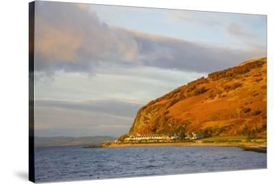Catacol, Isle of Arran, North Ayrshire, Scotland, United Kingdom, Europe-Gary Cook-Stretched Canvas Print