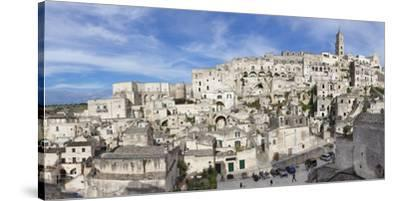 Sasso Barisano and cathedral, UNESCO World Heritage Site, Matera, Basilicata, Puglia, Italy, Europe-Markus Lange-Stretched Canvas Print