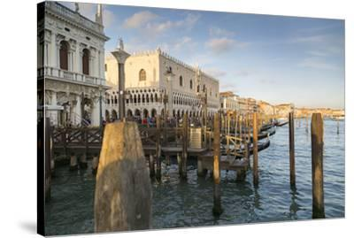 Doge's Palace and Grand Canal, Venice, UNESCO World Heritage Site, Veneto, Italy, Europe-Frank Fell-Stretched Canvas Print