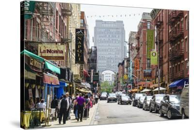 Little Italy, Manhattan, New York City, United States of America, North America-Fraser Hall-Stretched Canvas Print