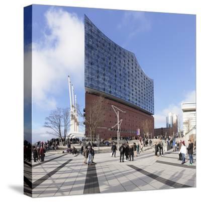 Elbphilharmonie, HafenCity, Hamburg, Hanseatic City, Germany, Europe-Markus Lange-Stretched Canvas Print