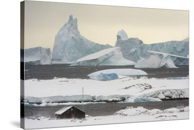 Vernadsky Research Base, the Ukrainian Antarctic station at Marina Point on Galindez Island in the -Sergio Pitamitz-Stretched Canvas Print