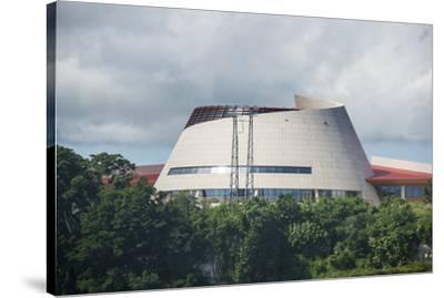 The Parliament of Vanuatu, Port Vila, Efate, Vanuatu, Pacific-Michael Runkel-Stretched Canvas Print