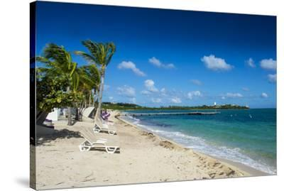 St. Martin, French territory, West Indies, Caribbean, Central America-Michael Runkel-Stretched Canvas Print