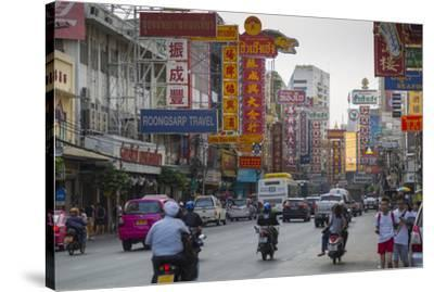 Chinatown, Bangkok, Thailand, Southeast Asia, Asia-Frank Fell-Stretched Canvas Print