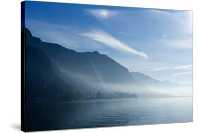 Lake Annecy, Savoie, France, Europe-Graham Lawrence-Stretched Canvas Print