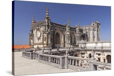 Convento de Cristi (Convent of Christ) Monastery, UNESCO World Heritage Site, Tomar, Santarem Distr-Markus Lange-Stretched Canvas Print