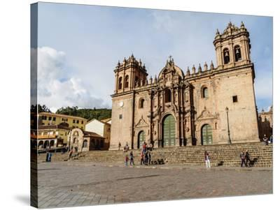 Cathedral of Cusco, UNESCO World Heritage Site, Cusco, Peru, South America-Karol Kozlowski-Stretched Canvas Print