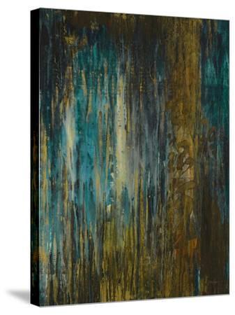 Asia Teal-Liz Jardine-Stretched Canvas Print