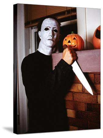 Halloween, Nick CAstle as Mike Myers, 1978--Stretched Canvas Print