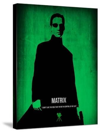 The Matrix Neo-NaxArt-Stretched Canvas Print