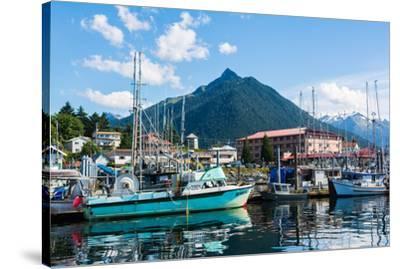 Sitka, Alaska, USA-Mark A Johnson-Stretched Canvas Print