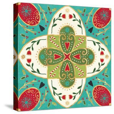 Otomi Holiday XII-Veronique Charron-Stretched Canvas Print