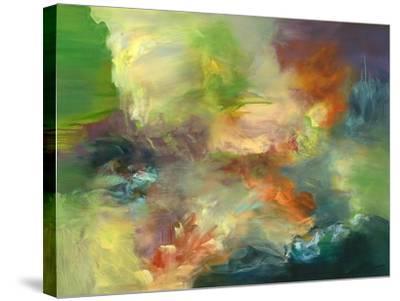 The Wild Braid-Emilia Arana-Stretched Canvas Print