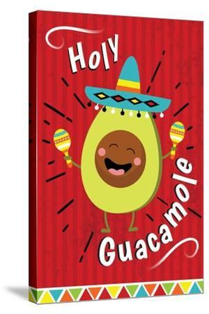 Holy Guacamole-ND Art-Stretched Canvas Print