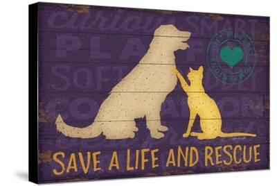 Save a Life Rescue-Jennifer Pugh-Stretched Canvas Print
