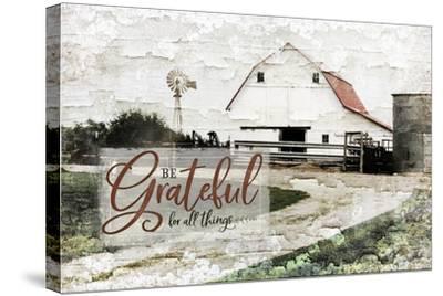 Be Grateful-Jennifer Pugh-Stretched Canvas Print