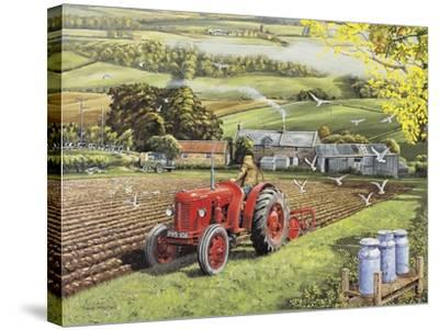 Master at Work-Trevor Mitchell-Stretched Canvas Print