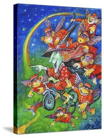 Look to the Rainbow-Bill Bell-Stretched Canvas Print