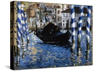 The Grand Canal, Venice, 1875-Edouard Manet-Stretched Canvas Print