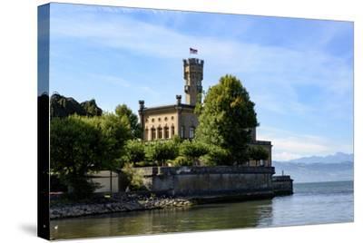 Castle Montfort, Langenargen, Lake of Constance, Baden-Wurttemberg, Germany-Ernst Wrba-Stretched Canvas Print