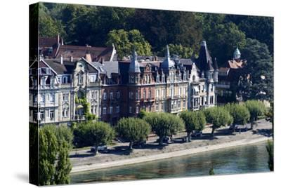Seestrasse, Constance, Lake of Constance, Baden-Wurttemberg, Germany-Ernst Wrba-Stretched Canvas Print