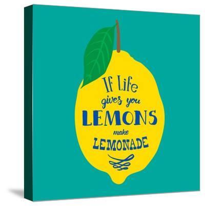 If Life Gives You Lemons, Make Lemonade-Ivanov Alexey-Stretched Canvas Print