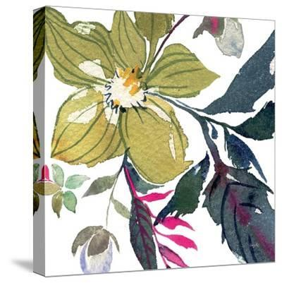 Hellebore Ya Doing I-Kristy Rice-Stretched Canvas Print