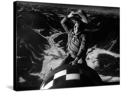 Docteur Folamour Dr Strangelove ( How I Learned to Stop Worrying and Love the Bomb) by Stanley Kubr--Stretched Canvas Print
