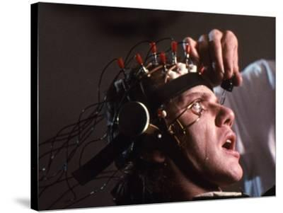 A CLOCKWORK ORANGE, 1971 directed by STANLEY KUBRICK with Malcolm McDowell (photo)--Stretched Canvas Print