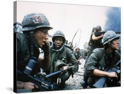 FULL METAL JACKET, 1987 directed by STANLEY KUBRICK Arliss Howard / Matthew Modine (photo)--Stretched Canvas Print