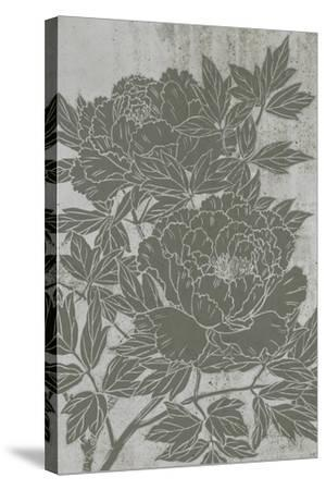 Blooming Peony I-Melissa Wang-Stretched Canvas Print