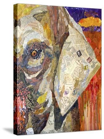Africa on Collage I-Elizabeth St. Hilaire-Stretched Canvas Print