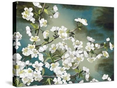 Floral - Copper-The Saturday Evening Post-Stretched Canvas Print