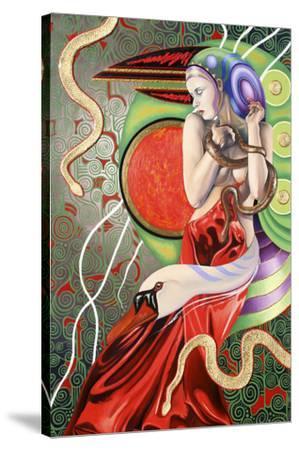 Temptation Of Eve 2-Graeme Stevenson-Stretched Canvas Print