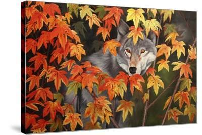 The Forest Ghost-Graeme Stevenson-Stretched Canvas Print