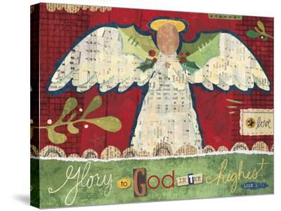 Christmas Collage 3-Holli Conger-Stretched Canvas Print