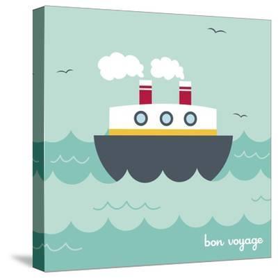 Bon Voyage-Holli Conger-Stretched Canvas Print