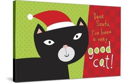 Pet Life cat 2-Holli Conger-Stretched Canvas Print