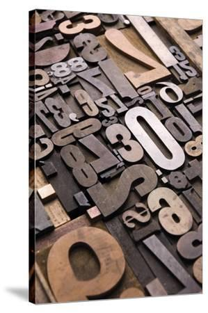 Typography Photography 11-Holli Conger-Stretched Canvas Print