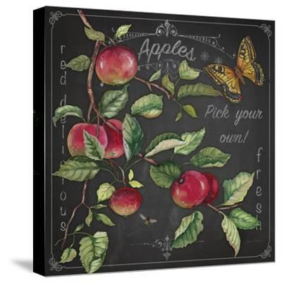 JP3913-Apples-Jean Plout-Stretched Canvas Print