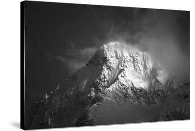White Mountain-Jason Matias-Stretched Canvas Print