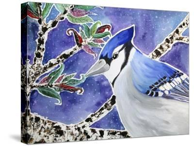Blue Jay Way-Lauren Moss-Stretched Canvas Print