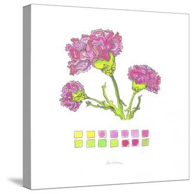 Carnation-Lisa Katharina-Stretched Canvas Print