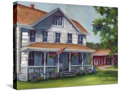 Porch Days-Marnie Bourque-Stretched Canvas Print
