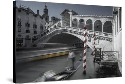 Gondolero-Moises Levy-Stretched Canvas Print