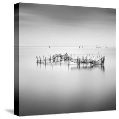 Lines 5-Moises Levy-Stretched Canvas Print