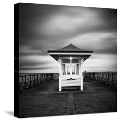 Swanage Pier-Rob Cherry-Stretched Canvas Print