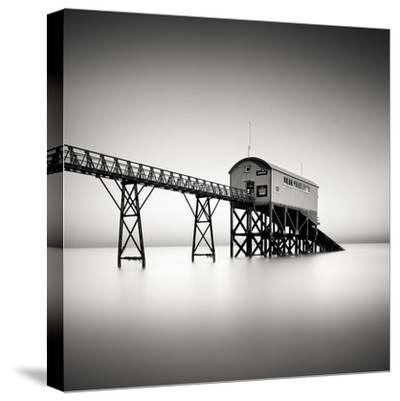 Selsey Pier-Rob Cherry-Stretched Canvas Print